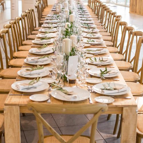table et chaises led design